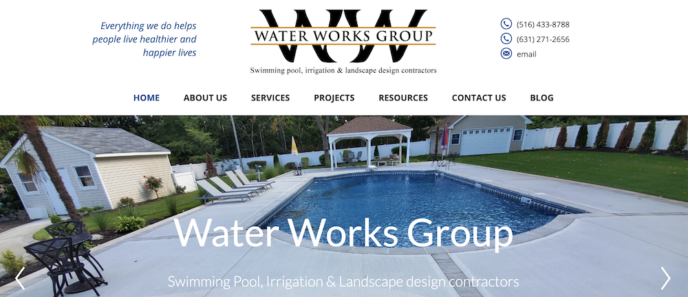 Water Works Group Launches A New Website
